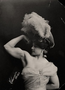 vintage strong woman