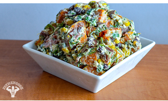 Fully Loaded Sweet Potato Salad Recipe Perfect For Your